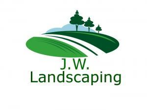 J.W. Landscaping logo