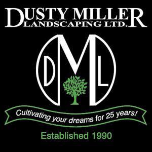 Dusty Miller Landscaping logo