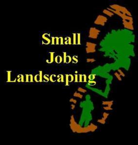 Small Jobs Landscaping logo
