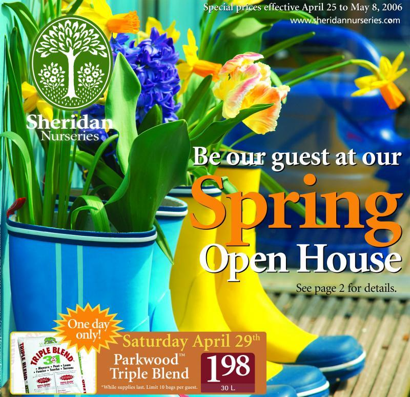 2006 - Merchandising Techniques - Outstanding Print Advertising  - flyer cover - spring issue