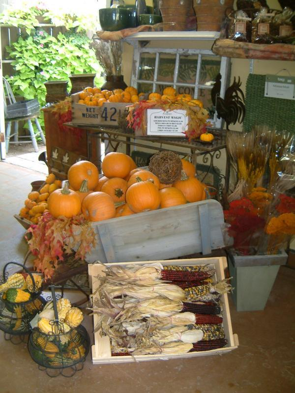 2006 - Outstanding Display of Goods - Seasonal - Indoor fall display