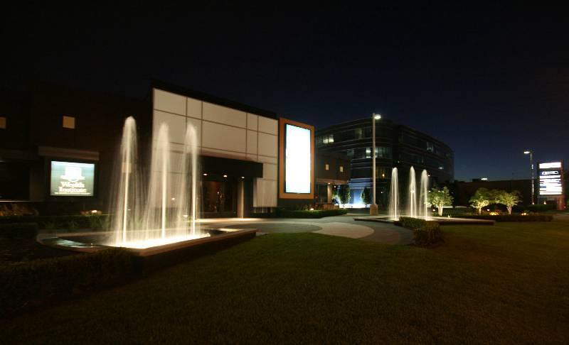 2008 - Water Features  - DPR Financial After Construction (Night)