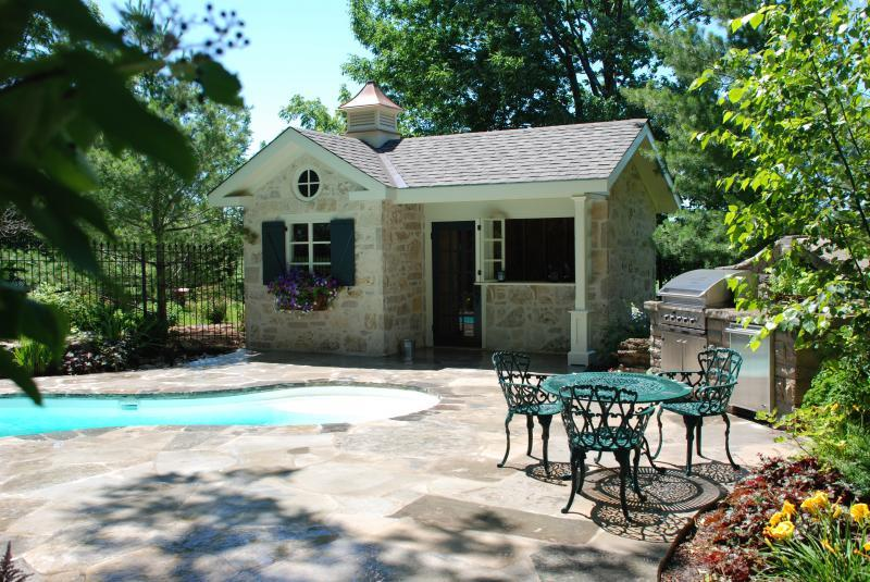 2008 - Residential Construction - $250,000 - $500,000 - Overview of Pool Terrace