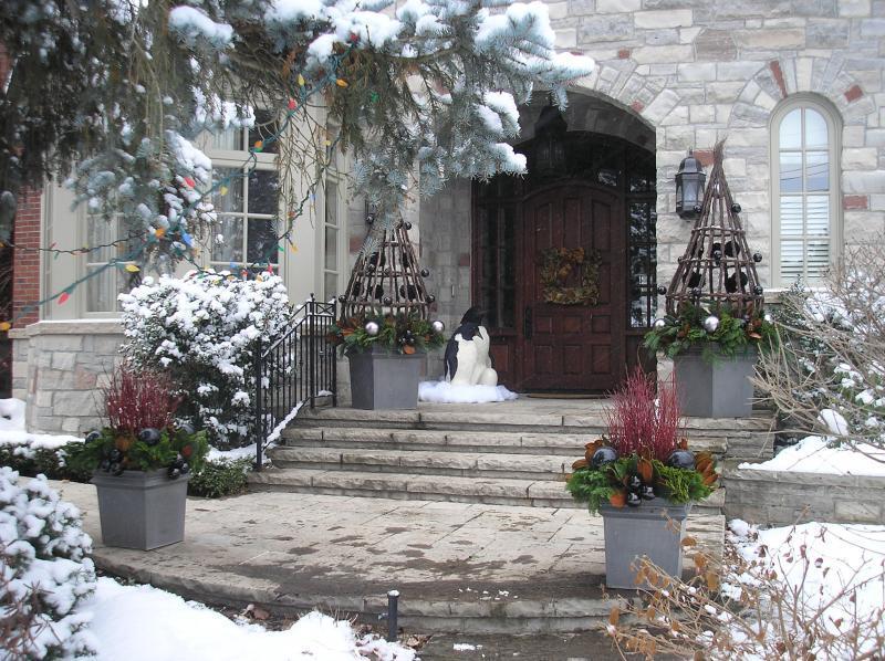 2008 - Balcony or Rooftop Garden - Winter Urns
