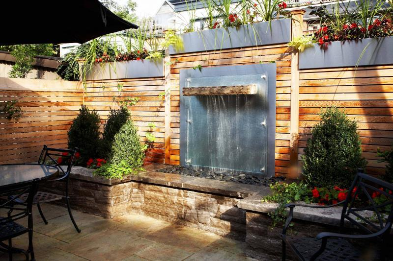2009 - Water Features  - Patio and Water feature