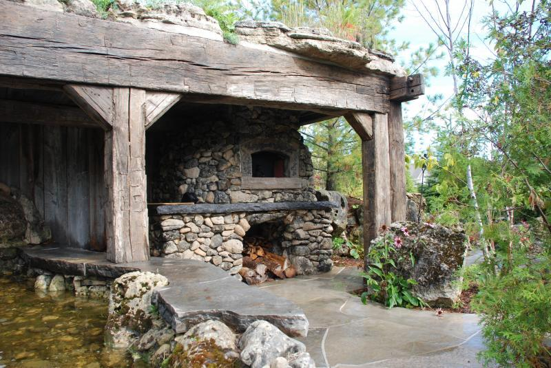 2009 - Special Interest Construction  - Recycled timbers evoke cave/abandoned mine type feeling