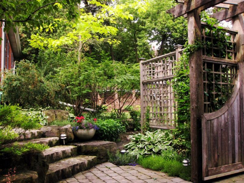 2011 - Residential Construction - $25,000 - $50,000 - Side Steps Plantings
