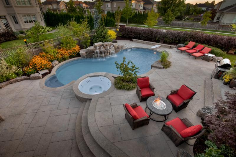 2011 - Residential Construction  - $100,000 - $250,000 - raised patios