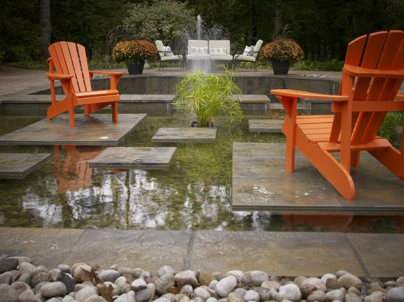 2011 - Water Features  - End view of Reflection Pond