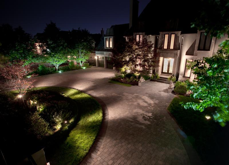 2011 - Landscape Lighting Design & Installation - Over $30,000 - Front 2