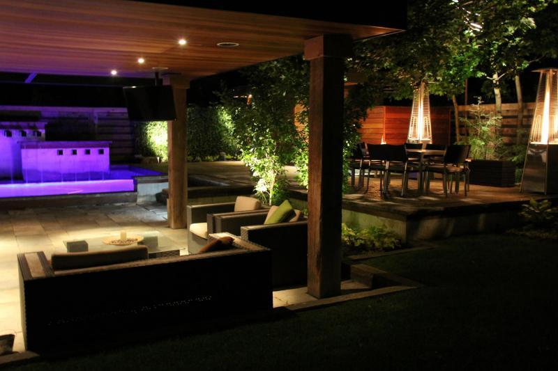 2012 - Landscape Lighting Design & Installation - Over $30,000