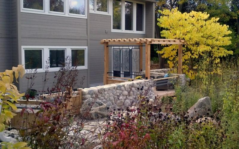2013 - Residential Construction - $25,000 - $50,000 - After shot of landscape from opposite angle