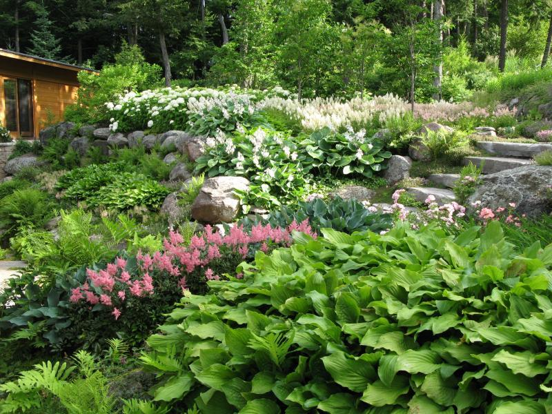 2013 - Private Residential Maintenance - 1 acre or more - entry garden 2