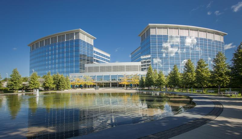 2013 - Corporate Building Maintenance -  Over 2 acres  - Pond View