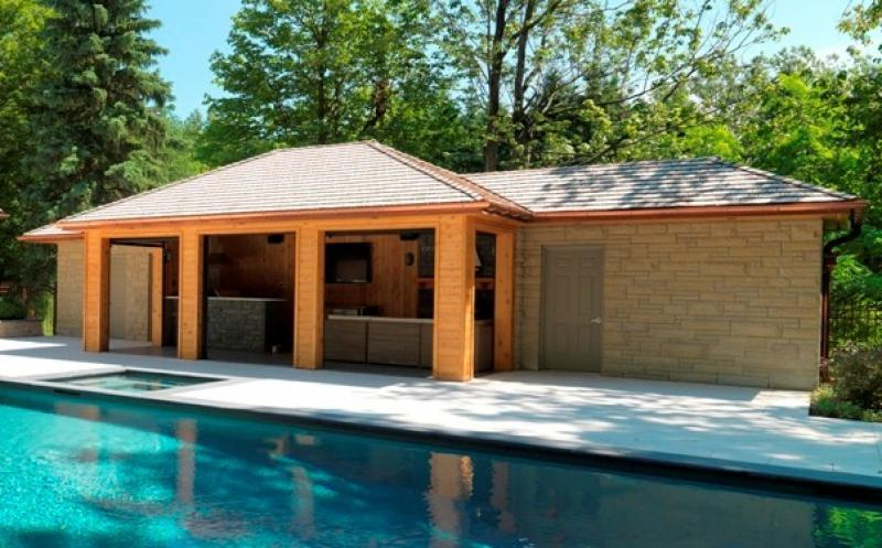 2013 - Special Interest Construction  - cabana complete