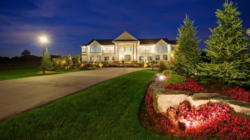 2013 - Landscape Lighting Design & Installation - Over $30,000 - front long view