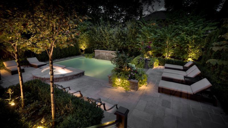 2013 - Landscape Lighting Design & Installation - Over $30,000