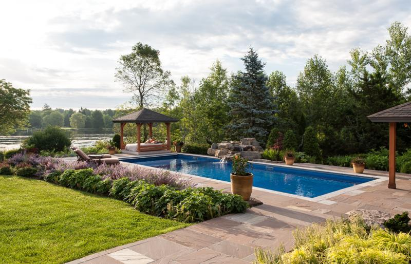 2014 - Residential Construction - $250,000 - $500,000 - View to pool and the river