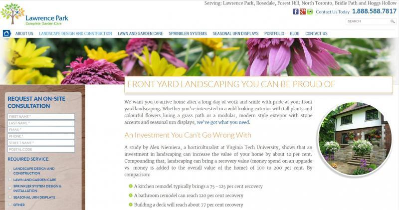 2014 - Web Sites  - Landscaping Services