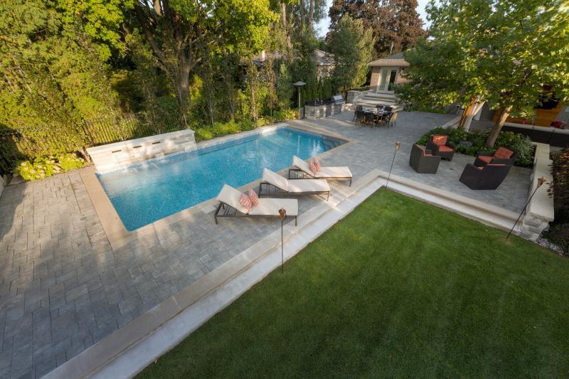 2014 - Residential Construction  - $100,000 - $250,000 - Backyard afer photo