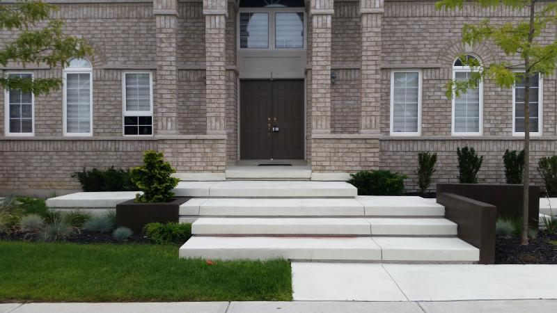 2014 - Residential Construction - $25,000 - $50,000 - Front steps 2