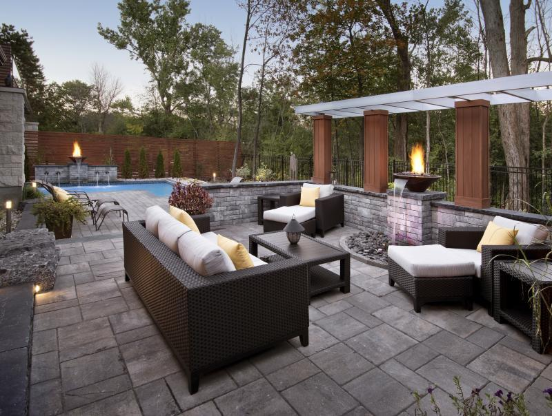 2015 - Residential Construction - $250,000 - $500,000 - Patio, Wall, Structure, Fire and Water features
