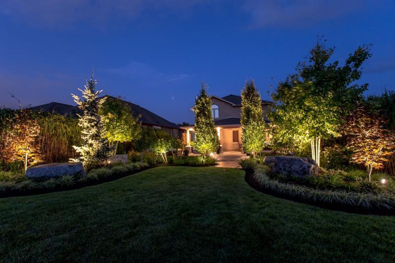 2015 - Landscape Lighting Design & Installation - $10,000 - $30,000 - Garden #3
