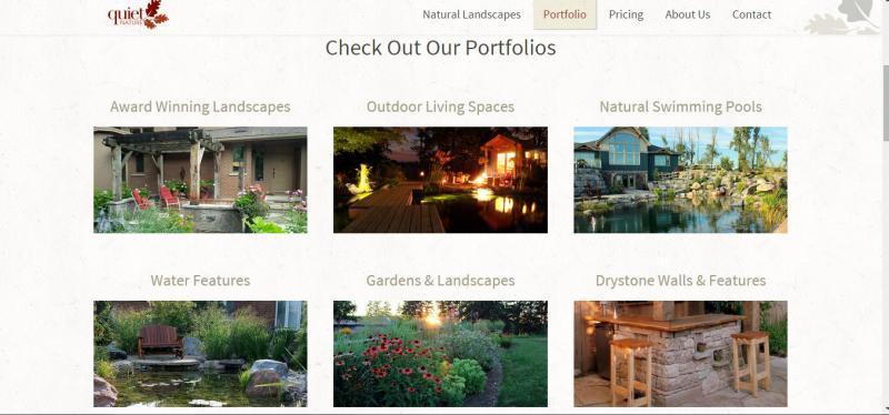 2015 - Web Sites  - portfolio page