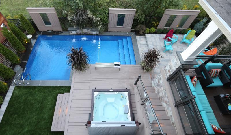 2015 - Residential Construction - $50,000 - $100,000 - Back yard, Decks, Pool, & Hot Tub