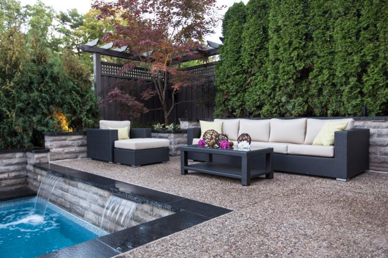 2015 - Residential Construction  - $100,000 - $250,000 - Back yard, Patios & Pool