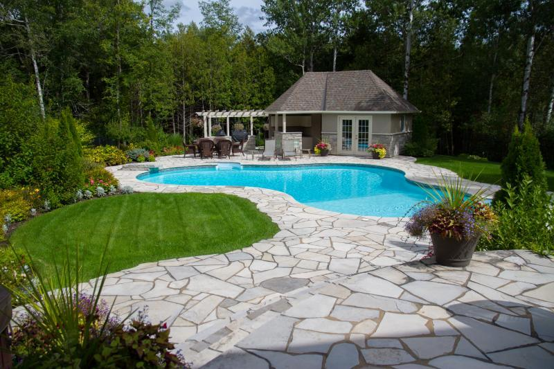 2015 - Residential Construction  - $100,000 - $250,000 - View of pool and landscaping 2