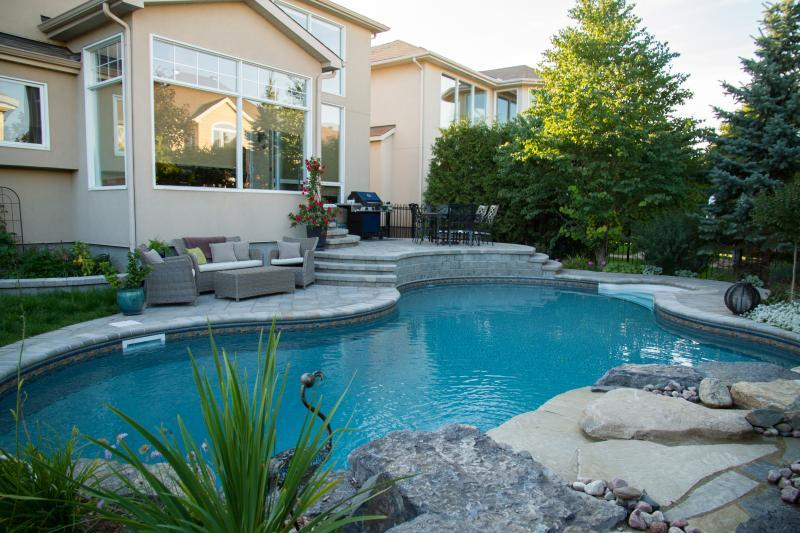 2015 - Residential Construction - $50,000 - $100,000 - view of pool and terrace