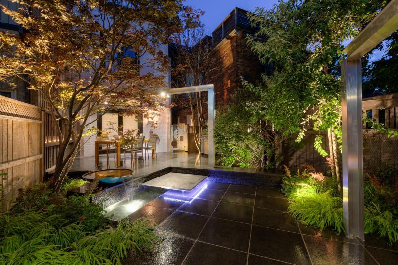 2015 - Landscape Lighting Design & Installation - Under $10,000 - View from Lounge 2