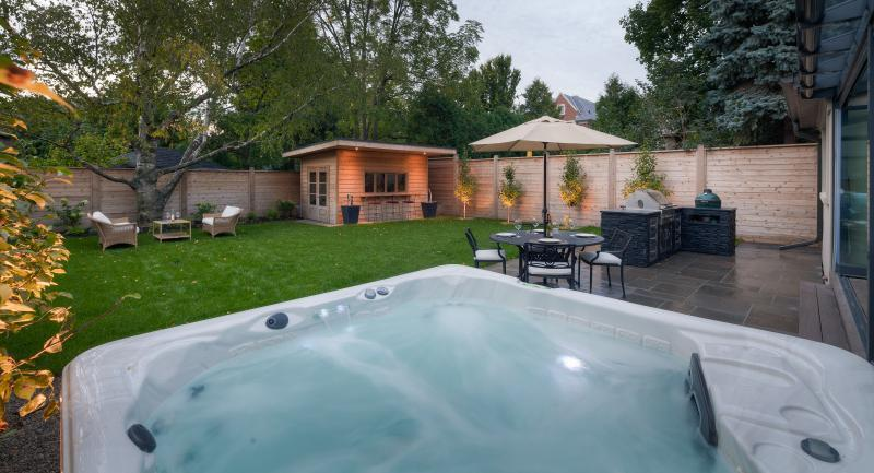 2015 - Residential Construction - $50,000 - $100,000 - View of backyard from Hot Tub