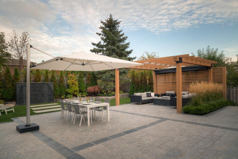 2015 - Residential Construction - $250,000 - $500,000 - Pergola & water feature