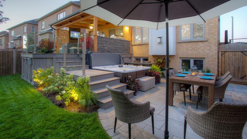 2016 - Residential Construction - $50,000 - $100,000 - View of Deck Area from Lower Patio