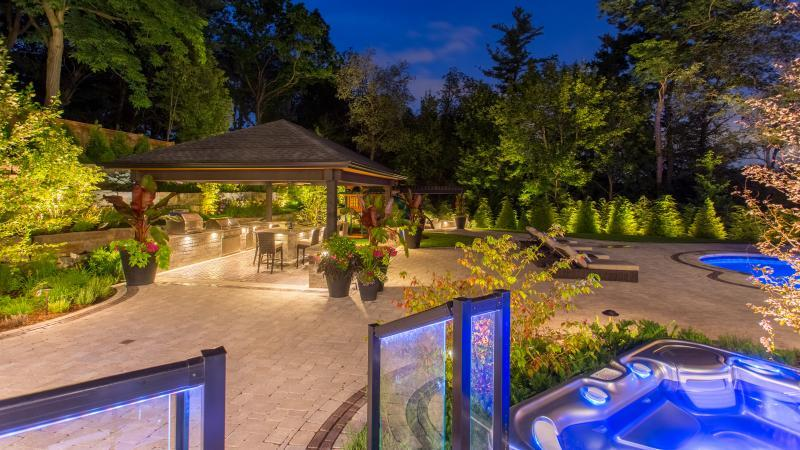 2017 - Landscape Lighting Design & Installation - Over $30,000