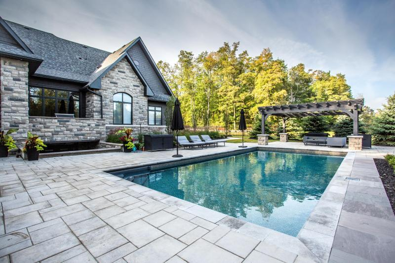 2017 - Residential Construction - $250,000 - $500,000 - west view of the pool area