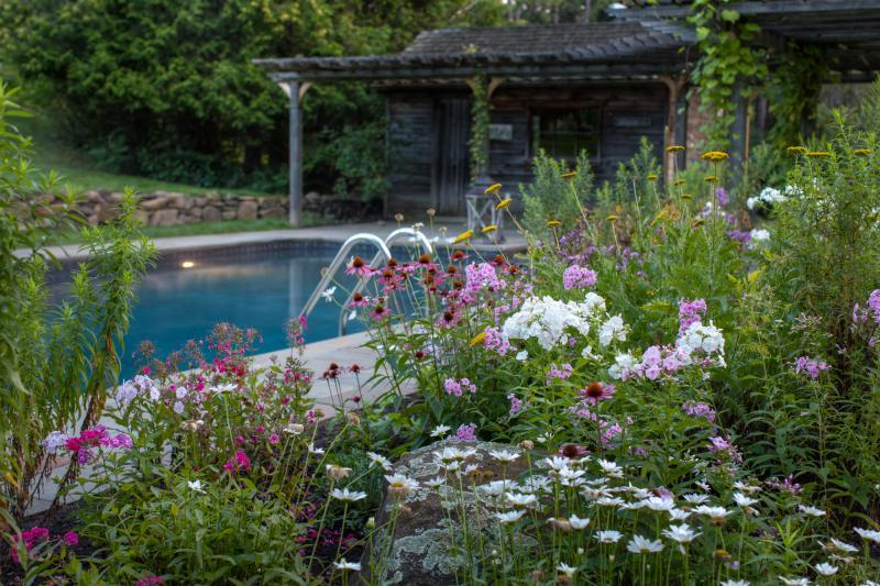 2018 - Private Residential Maintenance - 1 acre or more - Phlox, coneflower, yarrow and Shasta daisies provide a nice mix of colour and texture.