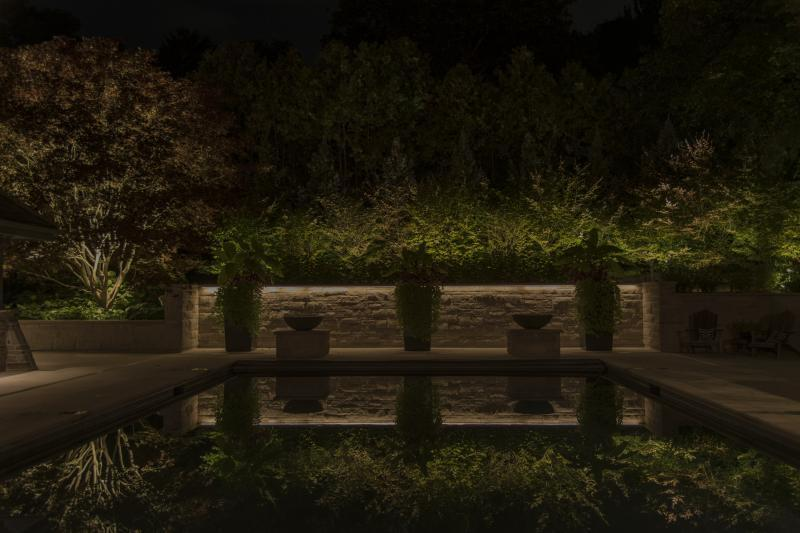 2019 - Landscape Lighting Design & Installation - Over $30,000 - Pool Area