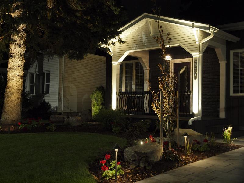 2019 - Landscape Lighting Design & Installation - Under $10,000 - Driveway View