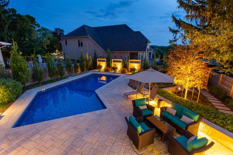 2019 - Residential Construction  - $100,000 - $250,000 - Pool Night View